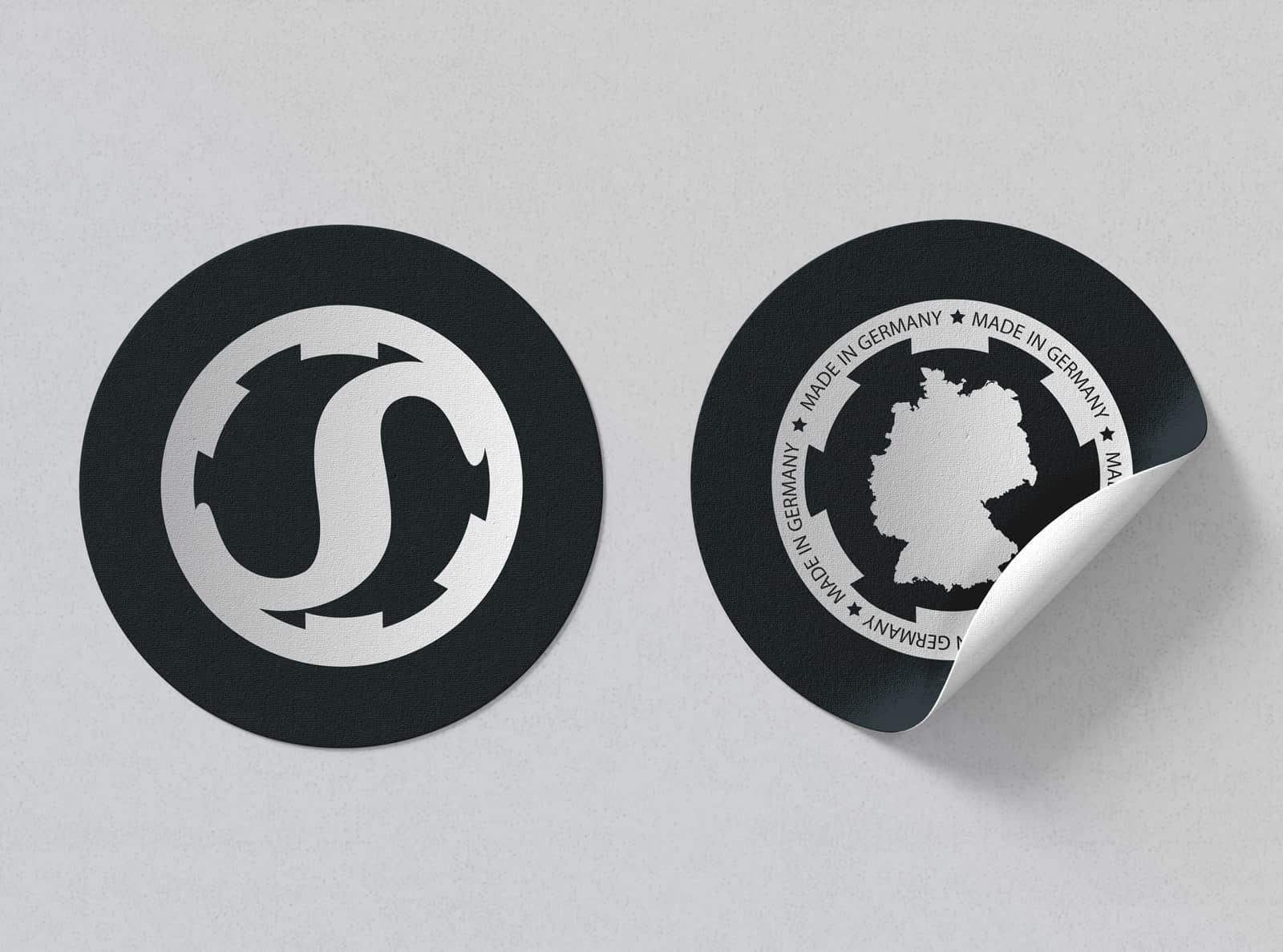 Schmeisser-GmbH_Corporate-Design_Sticker
