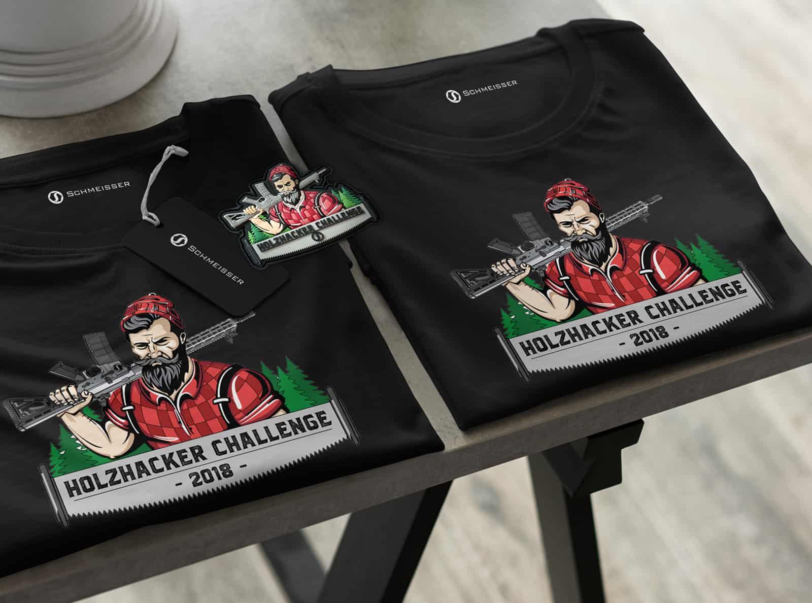 Schmeisser-GmbH_Holzhacker-Challenge_T-Shirt_Patch